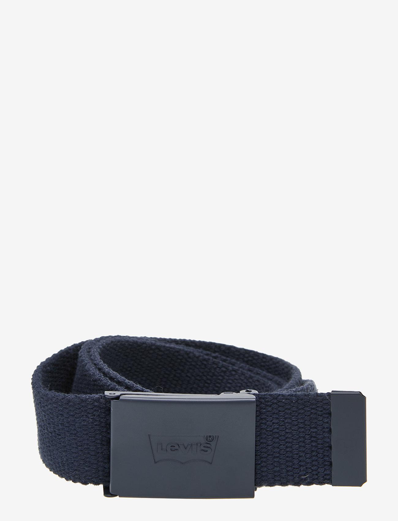 Levi's Footwear & Acc - TONAL WEB BELT - bælter - navy blue - 0