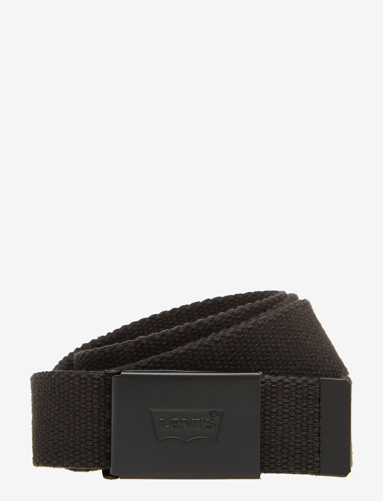 Levi's Footwear & Acc - TONAL WEB BELT - belts - regular black - 0