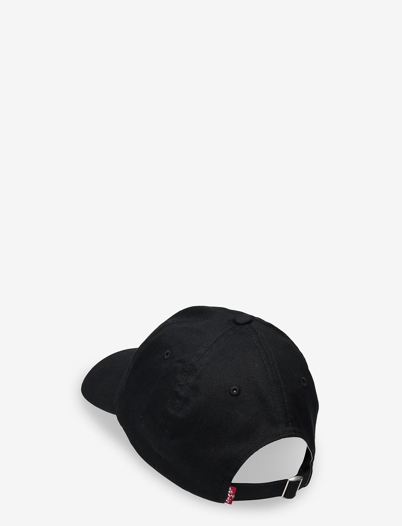 Levi's Footwear & Acc - VINTAGE MODERN FLEXFIT CAP - kepsar - regular black - 1