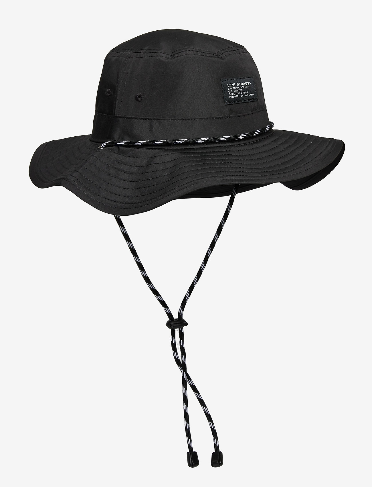 Levi's Footwear & Acc - RIVER HAT - OV - kapelusze - regular black - 0