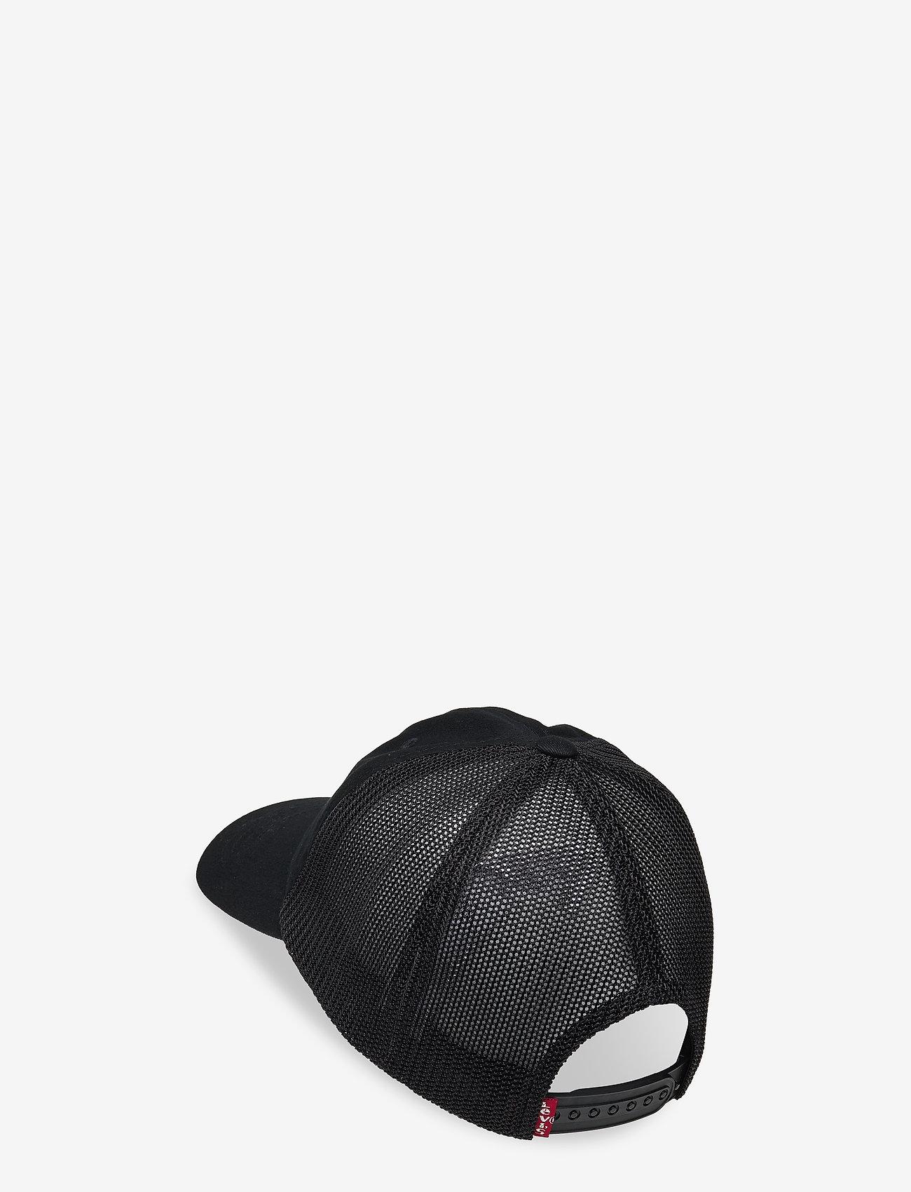 Levi's Footwear & Acc - MESH BACK BASEBALL CAP - VINTAGE MODERN - casquettes - regular black - 1