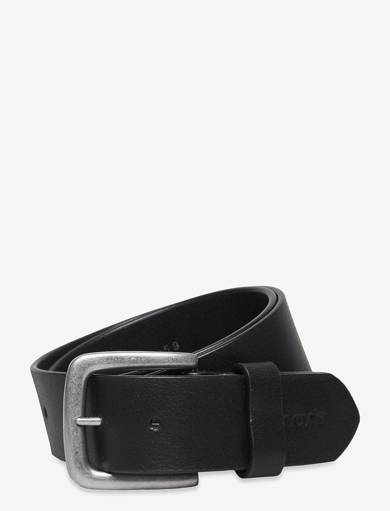 Levi's Footwear & Acc - Modern Vintage Keeper Belt - skärp - regular black - 0