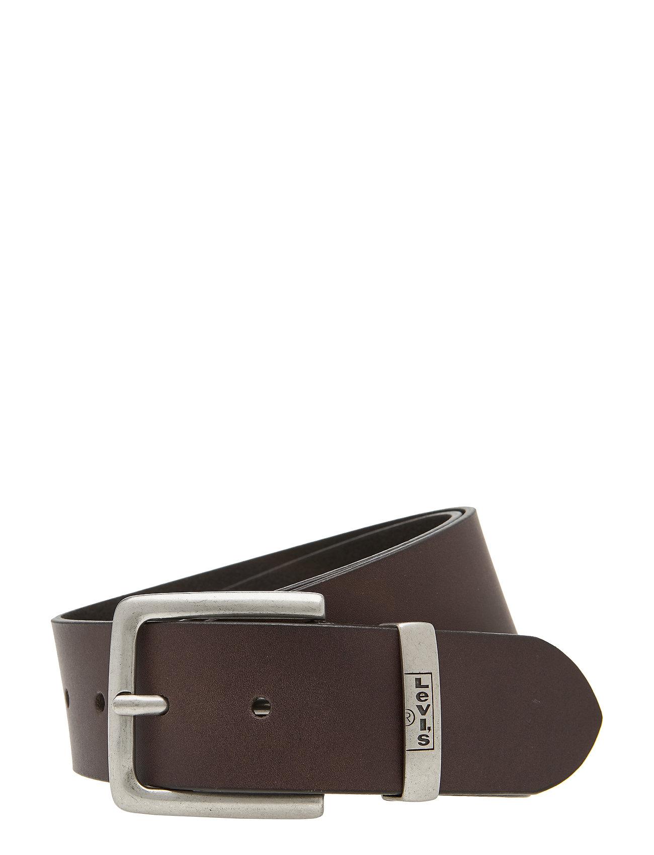 Levi's Footwear & Acc - NEW ALBERT - paski klasyczne - dark brown - 0