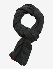 Levi's Footwear & Acc - LIMIT SCARF - sjalar & halsdukar - dark grey - 0