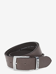 Levi's Footwear & Acc - HEBRON - skärp - dark brown - 0
