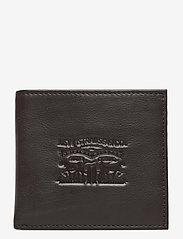 Levi's Footwear & Acc - VINTAGE TWO HORSE BIFOLD COIN WALLET - plånböcker - dark brown - 0