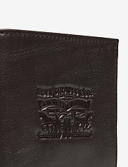 Levi's Footwear & Acc - VINTAGE TWO HORSE BIFOLD COIN WALLET - plånböcker - dark brown - 3