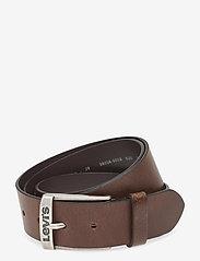 Levi's Footwear & Acc - NEW DUNCAN - ceintures classiques - dark brown - 0