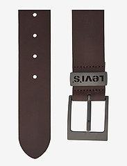 Levi's Footwear & Acc - ASHLAND METAL - skärp - brown - 1