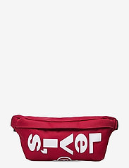 Levi's Footwear & Acc - Small Banana Sling - Wordmark - sacs banane - brilliant red - 0