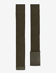 Levi's Footwear & Acc - TONAL WEB BELT - bälten - dark khaki - 1