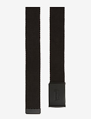 Levi's Footwear & Acc - TONAL WEB BELT - bælter - regular black - 1