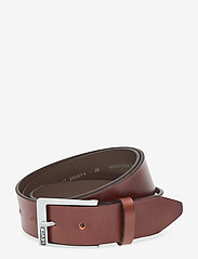 Levi's Footwear & Acc - Box Tab Belt - skärp - brown - 0