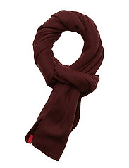 LIMIT SCARF - BORDEAUX