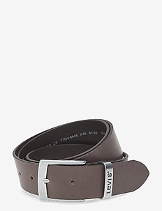 HEBRON - belts - dark brown