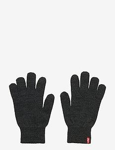 BEN TOUCH SCREEN GLOVES - handskar - dark grey