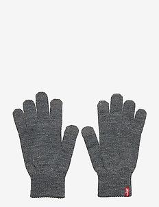 BEN TOUCH SCREEN GLOVES - hansker - regular grey