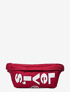 Small Banana Sling - Wordmark - nerki - brilliant red