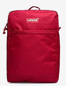 The Levi's® L Pack Slim (RED BATWING) - plecaki - brilliant red