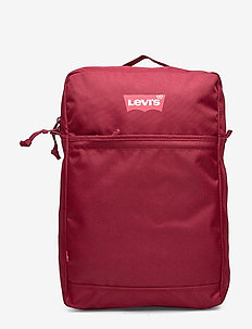 The Levi's® L Pack Slim (RED BATWING) - plecaki - dark bordeaux