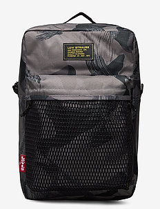 The Levi's L Pack Standard Issue Mesh - backpacks - dark grey