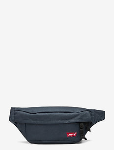 Medium Banana Sling - Embroidered Batwing - bum bags - navy blue