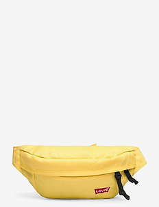 Medium Banana Sling - Embroidered Batwing - bæltetasker - light yellow