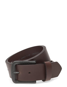 SEINE METAL - ceintures classiques - dark brown