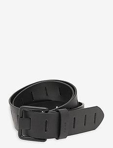 Slatted Belt - belter - regular black