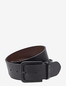 Reversible Core Metal Belt - belts - regular black