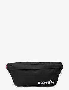 Small Banana Sling - Vintage Modern Logo - nerki - regular black