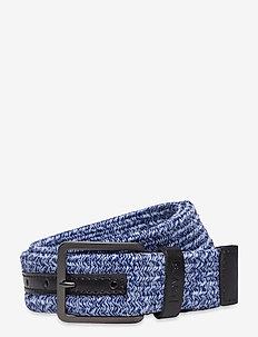 Levi's Woven Stretch Belt - flätade skärp - navy blue
