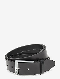 Box Tab Belt - belts - regular black