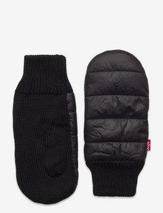 Puffer Mitten Gloves - rękawiczki - regular black