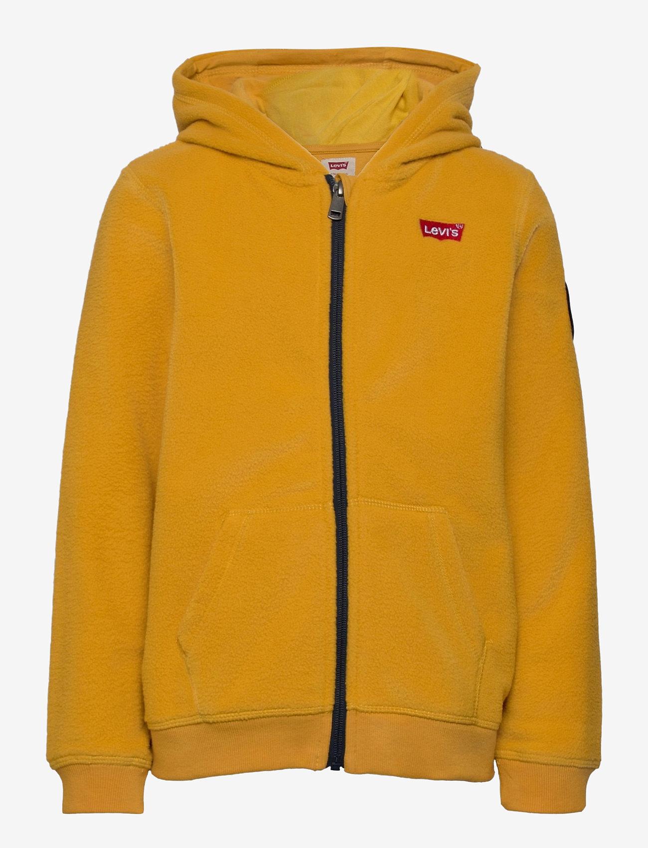 Levi's - COZY ZIP UP - fleecetøj - golden yellow - 0