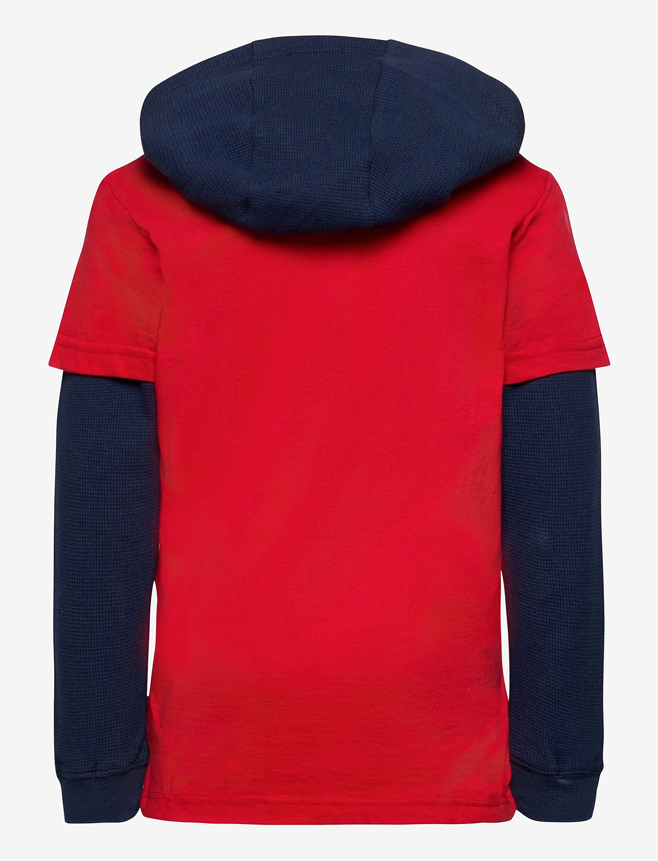 Levi's - LVB2FERPULLOVERHOODIE - hoodies - super red - 1