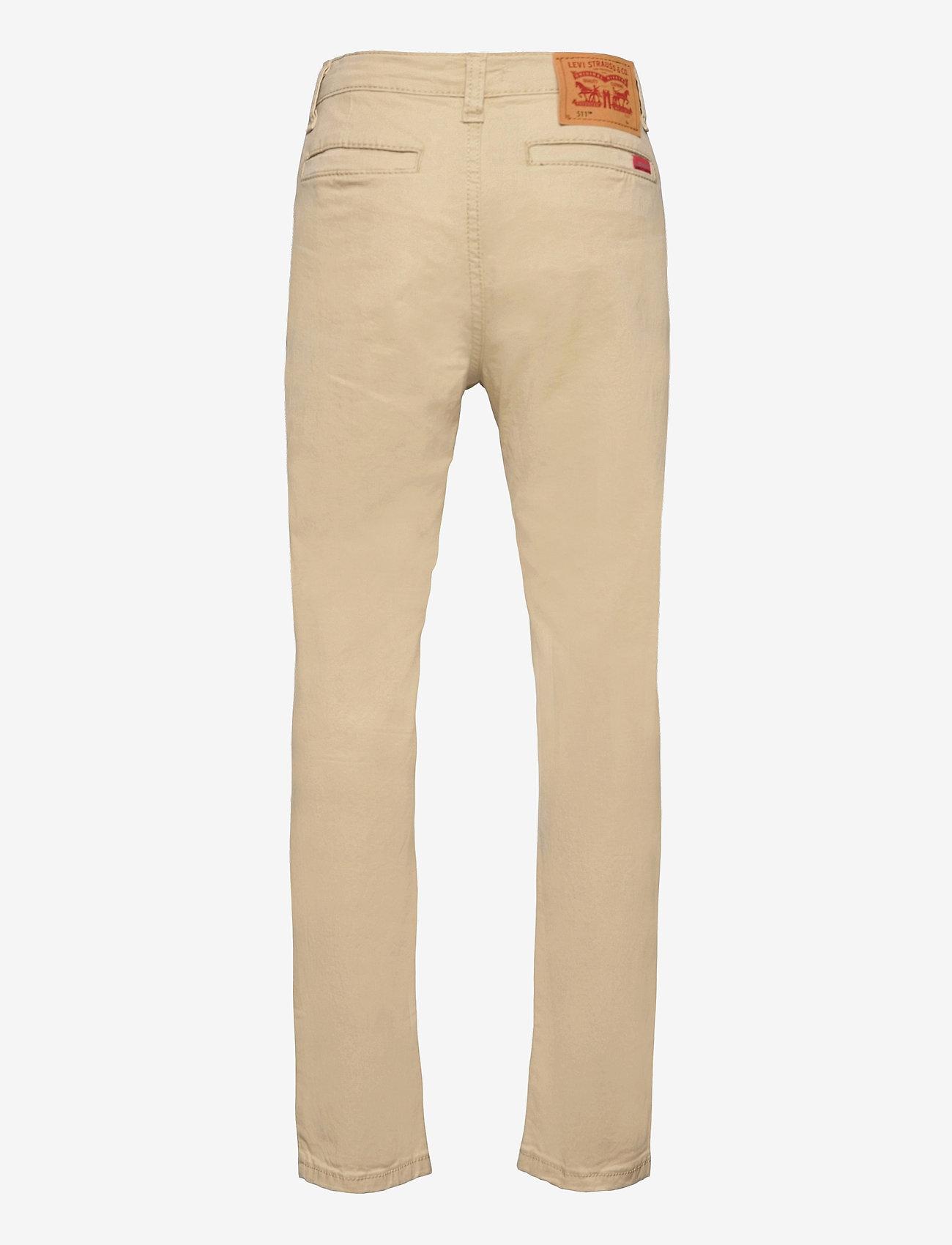 Levi's - LVB 511 SLIM FIT XX CHINOS - trousers - pale khaki - 1