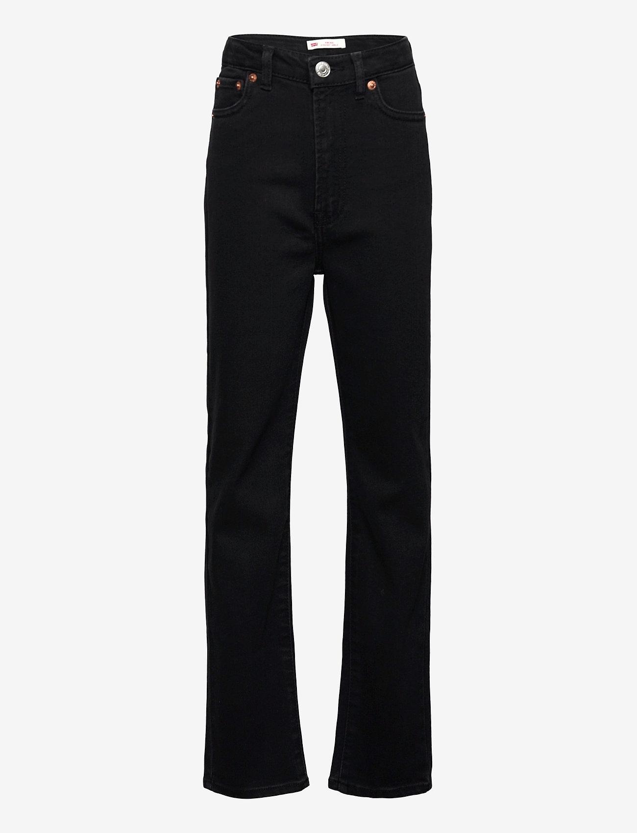 Levi's - LVG RIBCAGE DENIM PANT - jeans - black heart - 0