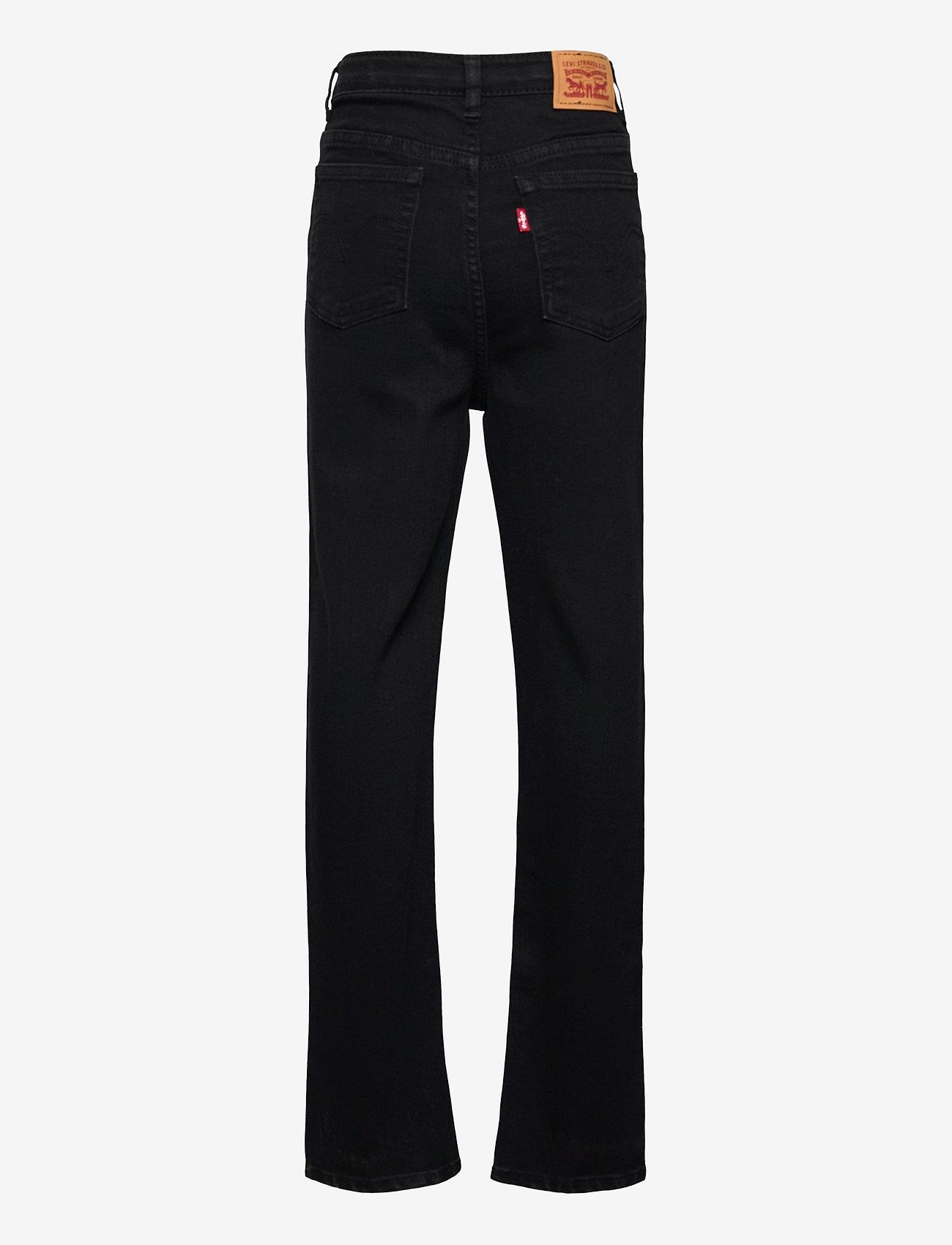 Levi's - LVG RIBCAGE DENIM PANT - jeans - black heart - 1