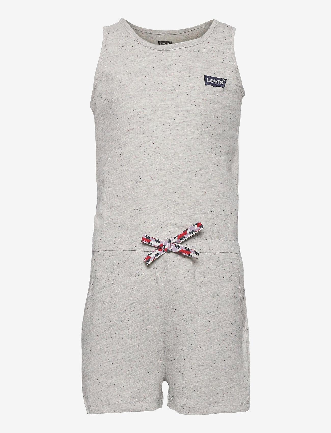 Levi's - LVG KNIT ROMPER - jumpsuits - grey heather - 0