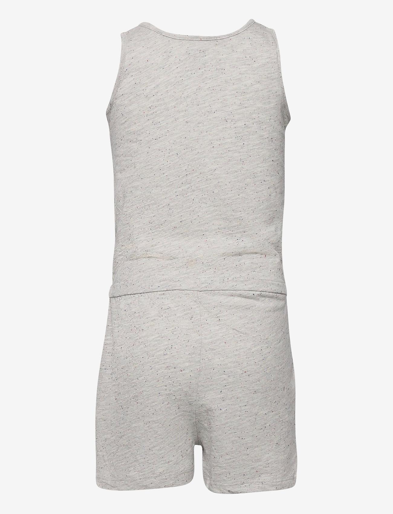 Levi's - LVG KNIT ROMPER - jumpsuits - grey heather - 1