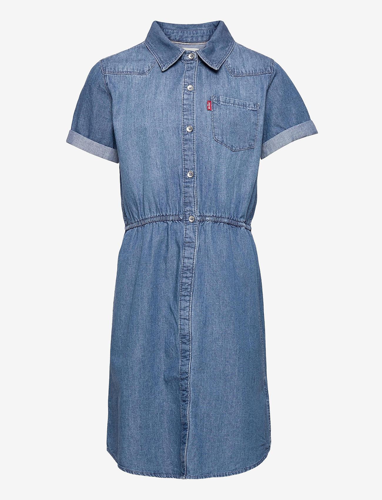 Levi's - LVG WOVEN DRESS - kleider - milestone - 0