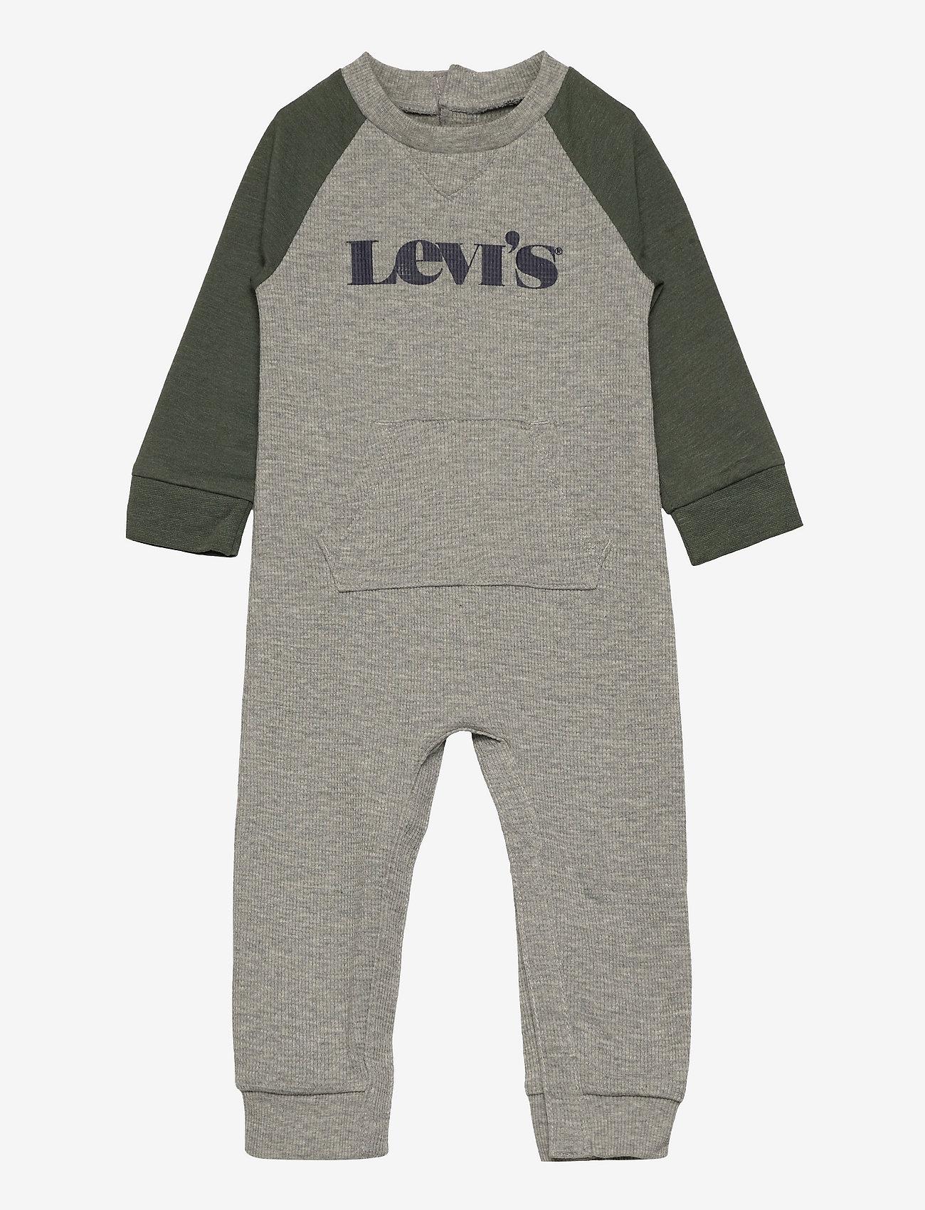 Levi's - LVB COLORBLOCK COVERALL - langärmelig - grey heather - 0