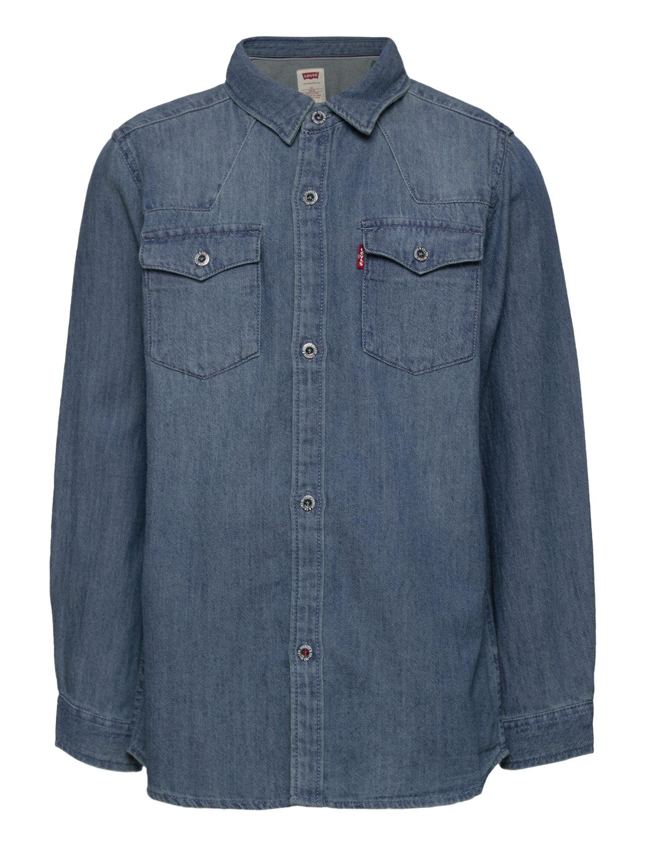Levi's - LVB-BARSTOW WESTERN SHIRT - shirts - vintage stone - 0