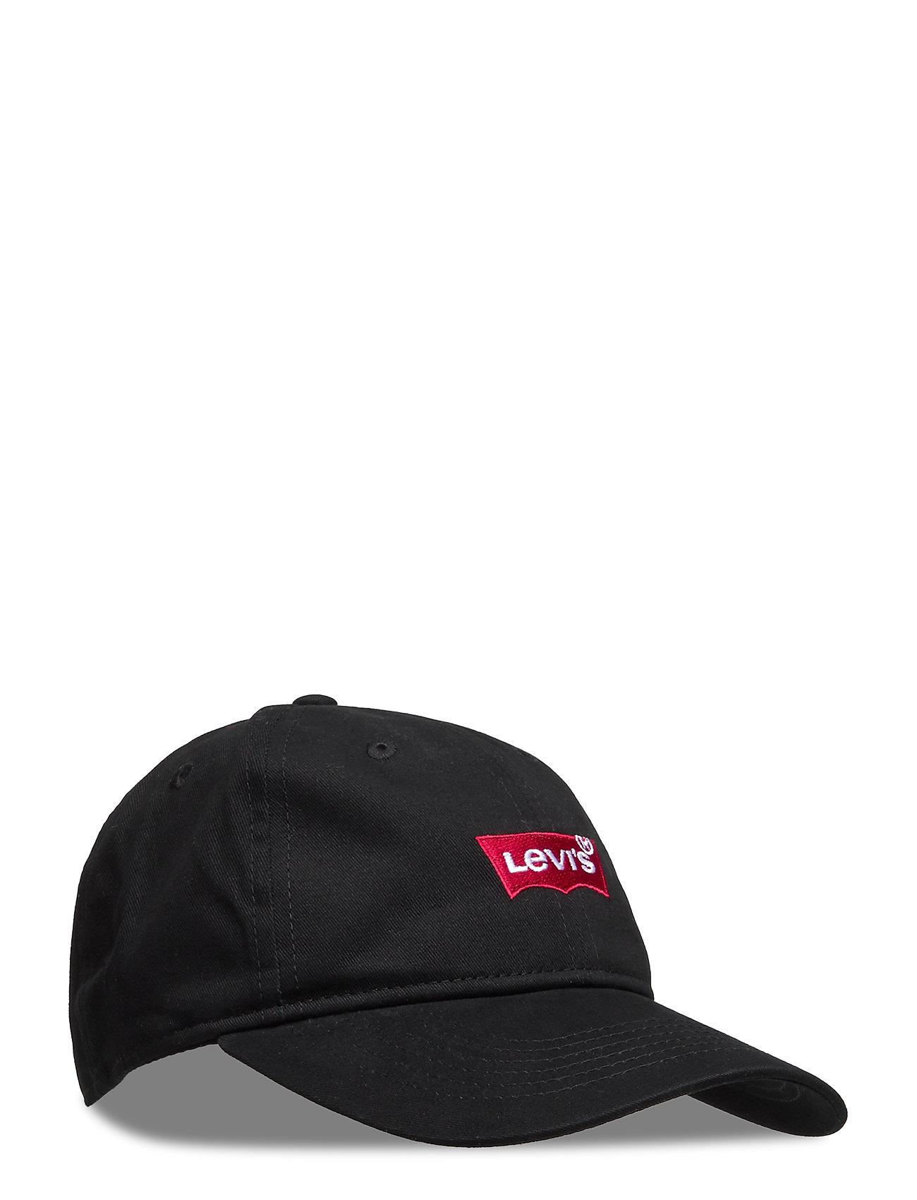 Levis Core Batwing Curve Brimcap Accessories Headwear Caps Svart Levis