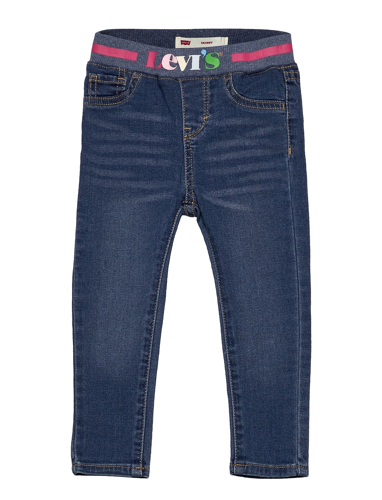 Pull On Skinny Jean Jeans Blå Levi's