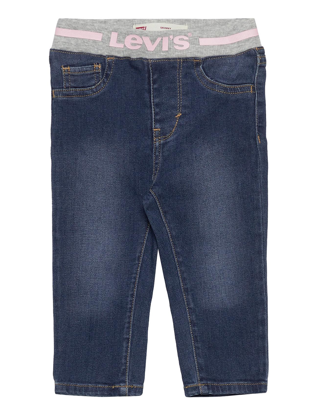 Image of Pull On Skinny Jean Jeans Blå Levi's (3440209543)