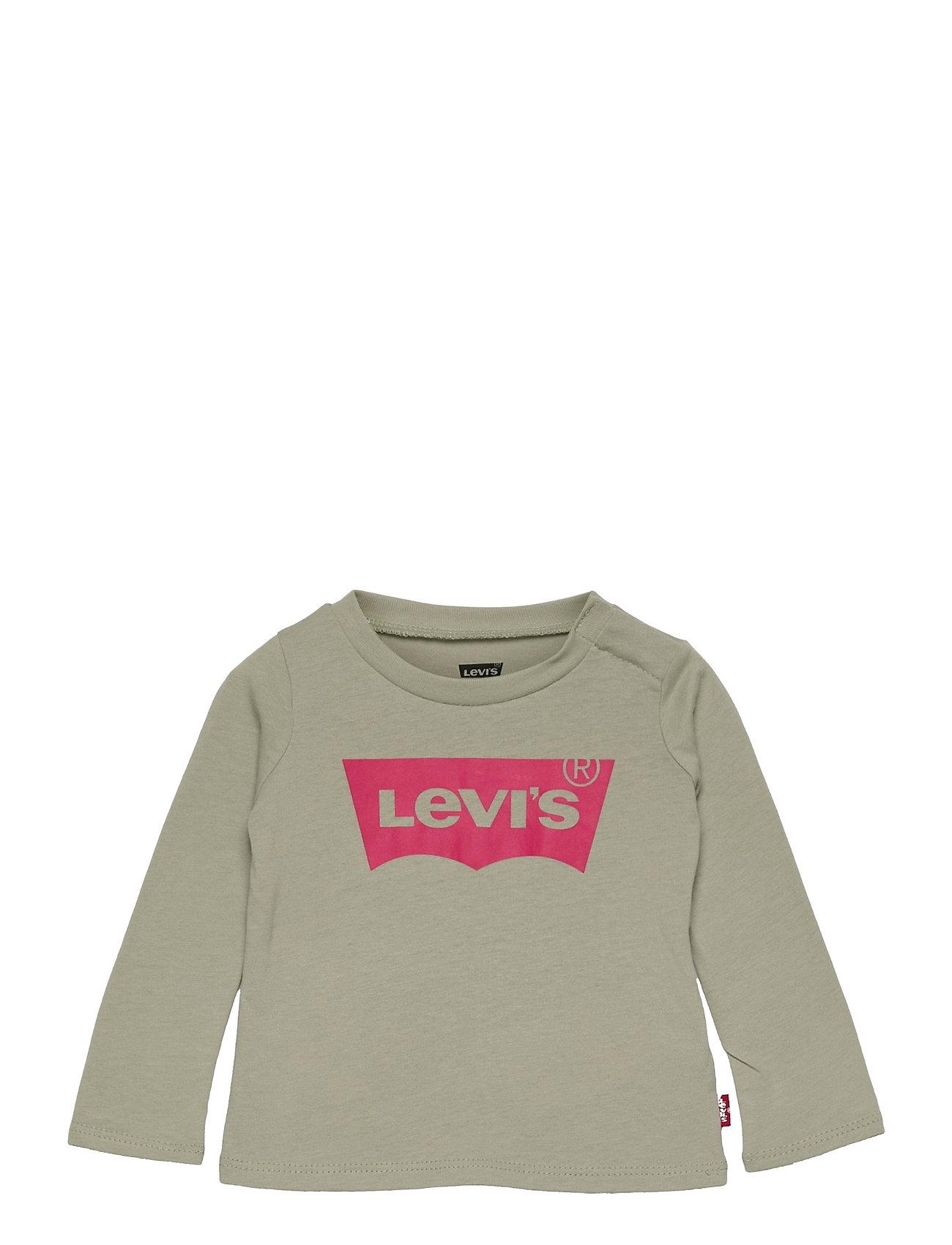 L/S Batwing Tee Langærmet T-shirt Grøn Levi's