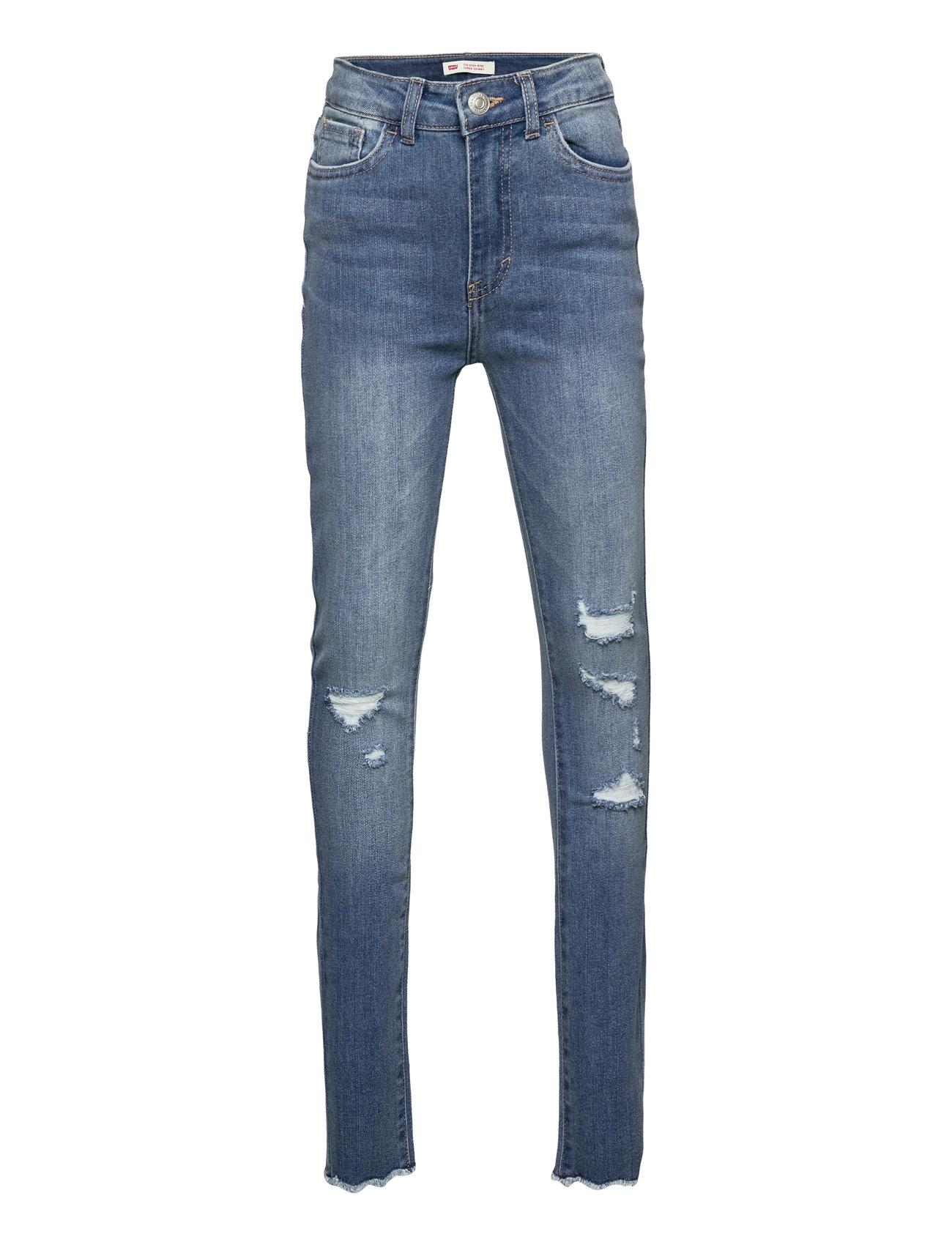 Levi's - LVG 720 HIGH RISE SUPER SKINNY - jeans - hometown blue - 0