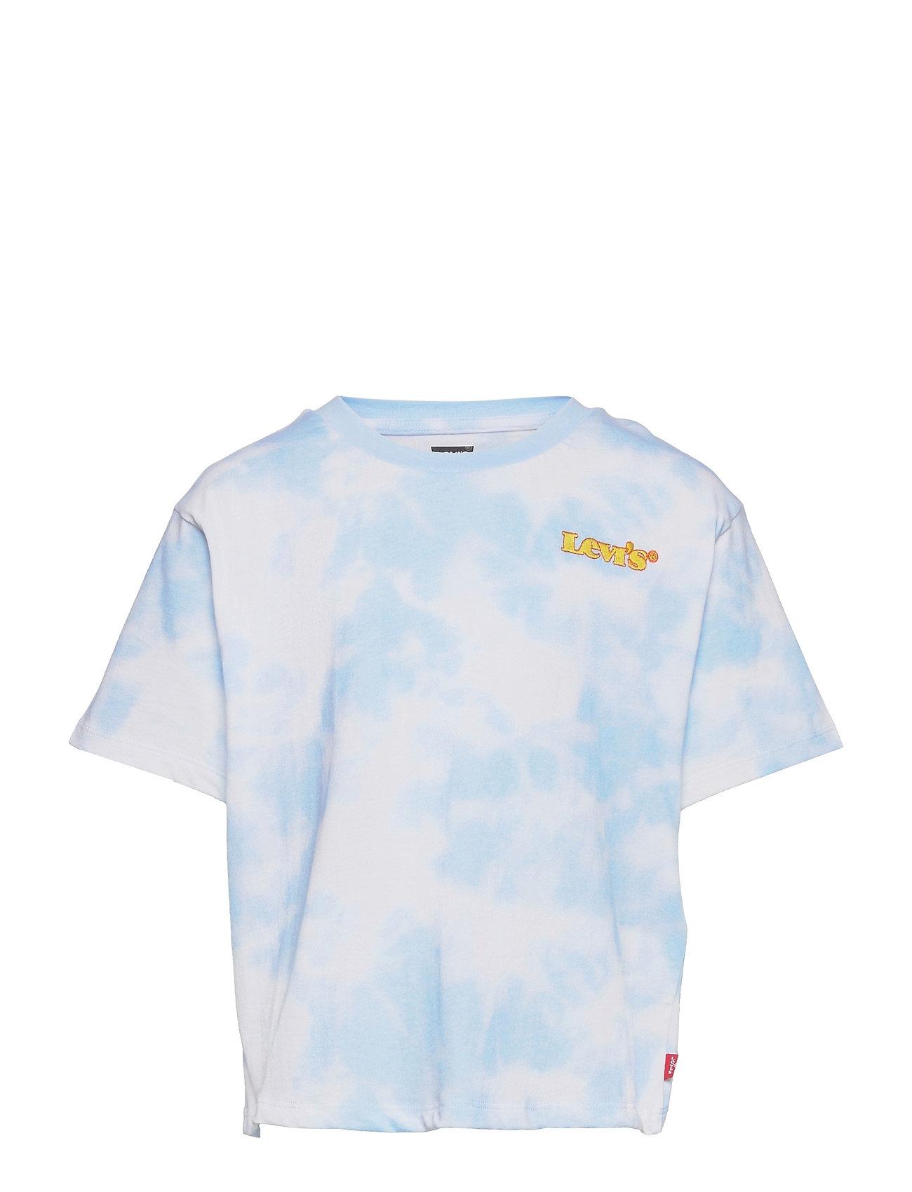 Lvg High Rise Jordi Tee T-shirt Blå Levi's